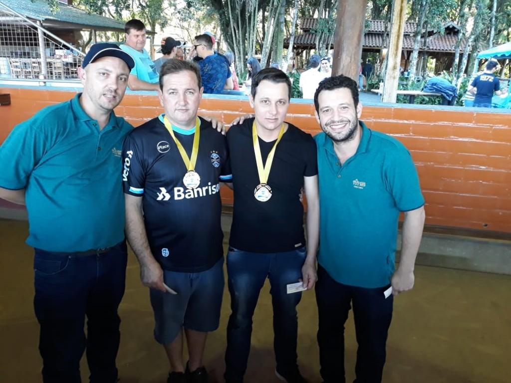 3º Lugar: ADELAR DA SILVA ERTHAL e ALQUIMEDES DE OLIVEIRA