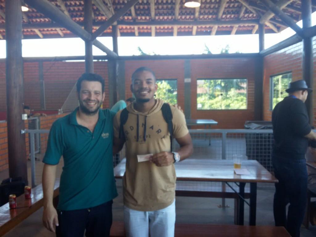 4° LUGAR: ABER GULHERME DE OLIVEIRA e LUIZ FERNANDO DE OLIVEIRA