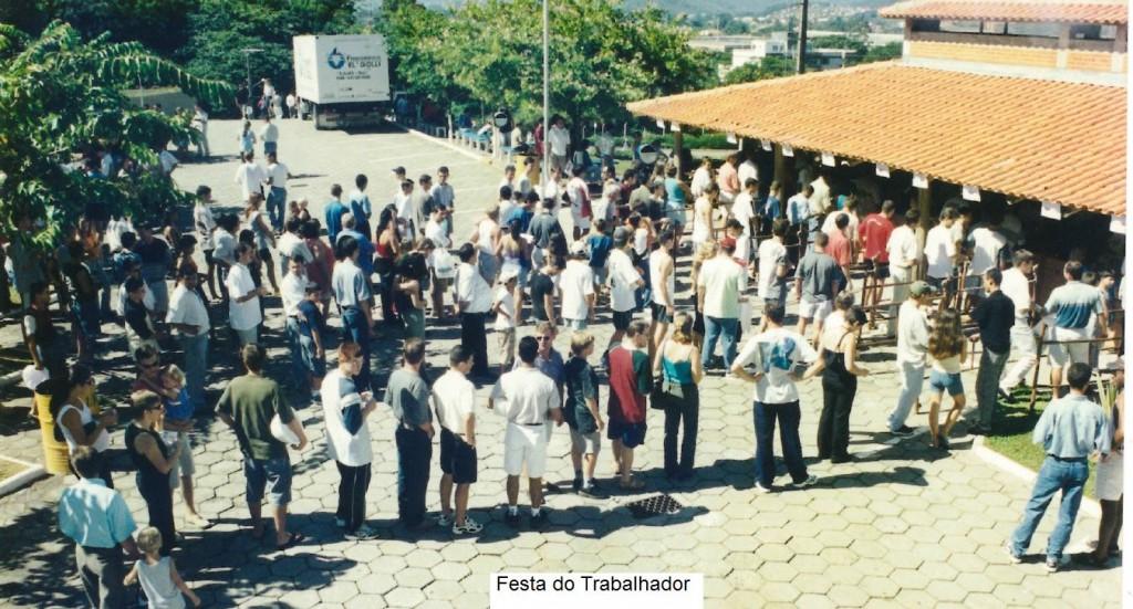 Festa trabalhador 2001