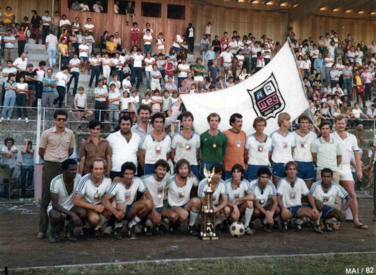 Futebol de campo Arweg 1982